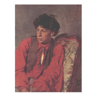 Ilya Repin- Portrait of V. E. Repin Post Cards