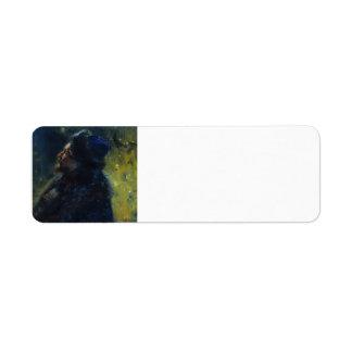 Ilya Repin- Portrait Viktor Mikhailovich Vasnetsov Custom Return Address Labels