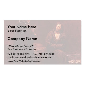 Ilya Repin- Refusal of the Confession Business Card Templates