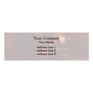 Ilya Repin- Refusal of the Confession Business Card Template