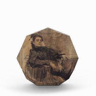 Ilya Repin: Retrato de la actriz Eleonora Duse