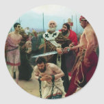 Ilya Repin- San Nicolás ahorra a tres Innocents Pegatinas Redondas