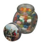 Ilya Repin- St. Nicholas Saves Three Innocents Glass Jar