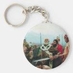 Ilya Repin- St. Nicholas Saves Three Innocents Keychains