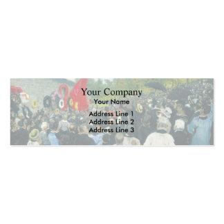 Ilya Repin- The Annual Memorial Meeting in Paris Business Card Templates