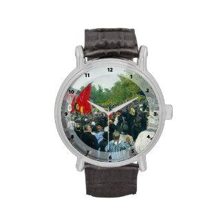 Ilya Repin- The Annual Memorial Meeting in Paris Wrist Watch