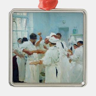 Ilya Repin- The Surgeon in Operating Theater Ornament