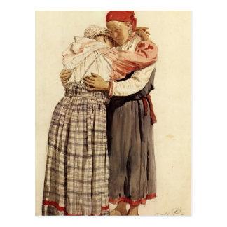 Ilya Repin: Two woman Postcard