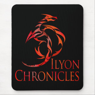 Ilyon Chronicles Red Dragon Mousepad