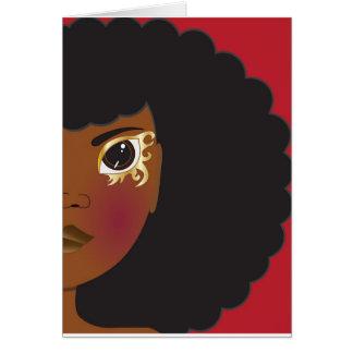 I'Lythia (Red) Greeting Card