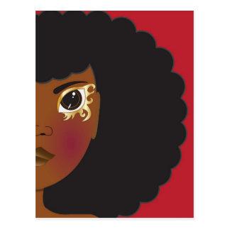 I'Lythia (Red) Postcard
