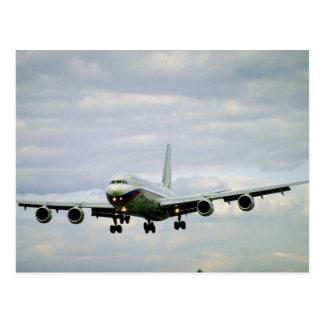 ILYUSHIN 96m, airliner, Russia Postcard