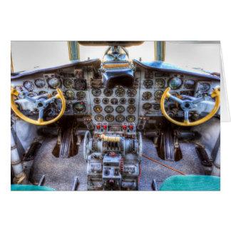 Ilyushin IL-18 Cockpit Card