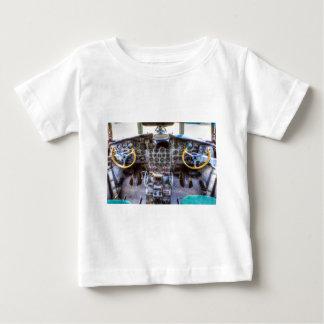 Ilyushin IL-18 Cockpit View Baby T-Shirt