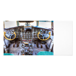 Ilyushin IL-18 Cockpit View Card