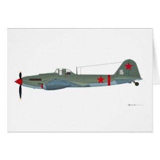 Ilyushin IL-2 Sturmovik Greeting Card