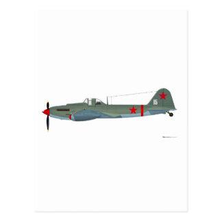 Ilyushin IL-2 Sturmovik Postcard