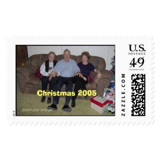 IM000038, Christmas 2005 Postage