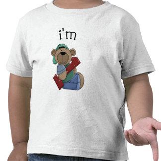 Im 1 Birthday Bear Tee Shirts