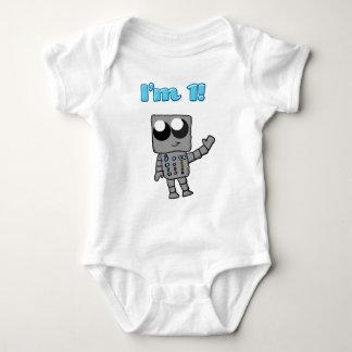 I'm 1 Robot Infant clothes Baby Bodysuit