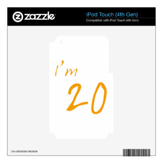I'm 20 skins for iPod touch 4G