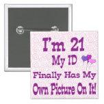 I'm 21 Button ID