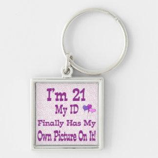 I'm 21 ID Keychain