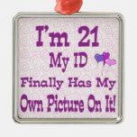 I'm 21 ID Ornament