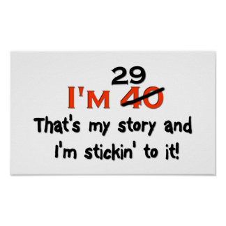 I'm 29 That's My Story! Poster