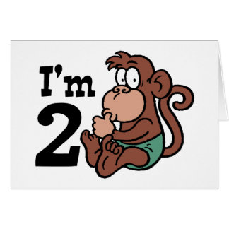 I'm 2 greeting card