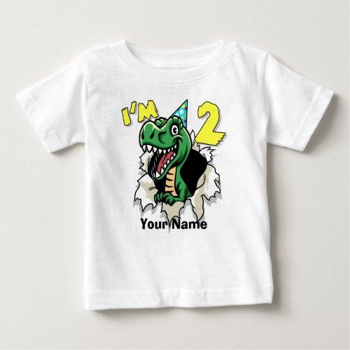 Im 2 Dinosaur Baby T_Shirt