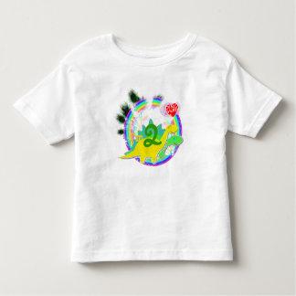 I'm 2 Dinosaurs Happy Birthday Party T-Shirt