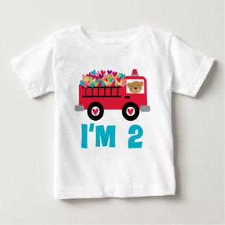 Im 2 Fire Truck Baby T-Shirt