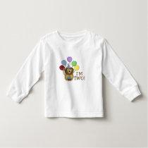I'm 2 (lion) toddler t-shirt