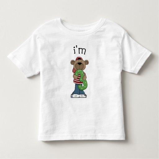 Im 3 Birthday Bear Tee Shirts