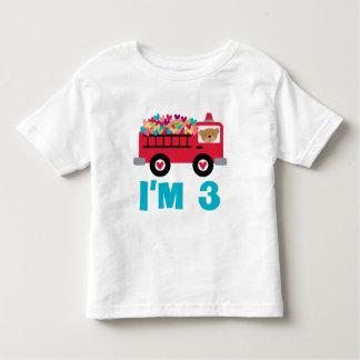 Im 3 Fire Truck Toddler T-shirt