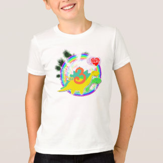 I'm 3 Happy Birthday Party Dinos T-Shirt