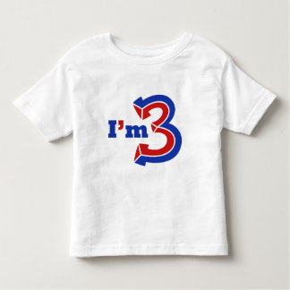 I'm 3 t-shirt