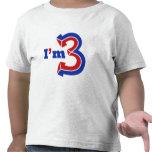 I'm 3 tshirt