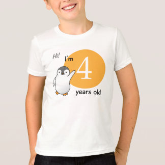 I'm 4 Years Old T-Shirt