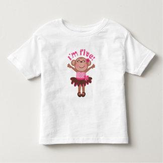 Im 5 Birthday Gift Idea Toddler T-shirt