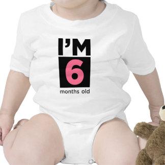 I'm 6 Months Old Pink T-shirt