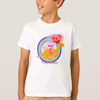 I'm 7 - 7th Birthday Party Dinosaurs T-Shirt