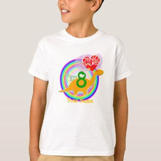 I'm 8 - 8th Birthday Celebration Dino T-Shirt