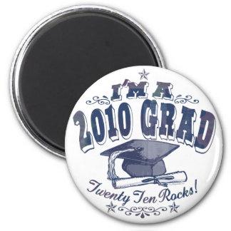I'm a 2010 Grad T-Shirts and Gifts Fridge Magnet