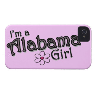I'm a Alabama Girl, Flower, Pink iPhone Cover