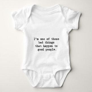 I'm a bad thing baby bodysuit