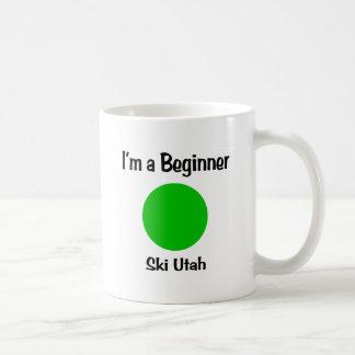 I'm a Beginner Ski Utah Coffee Mug