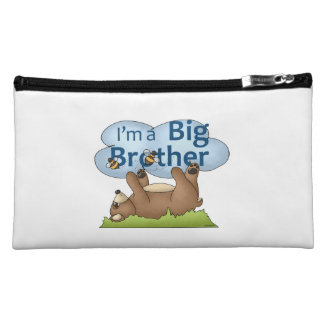 I'm a Big Brother bear Makeup Bag
