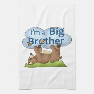 I'm a Big Brother bear Towels